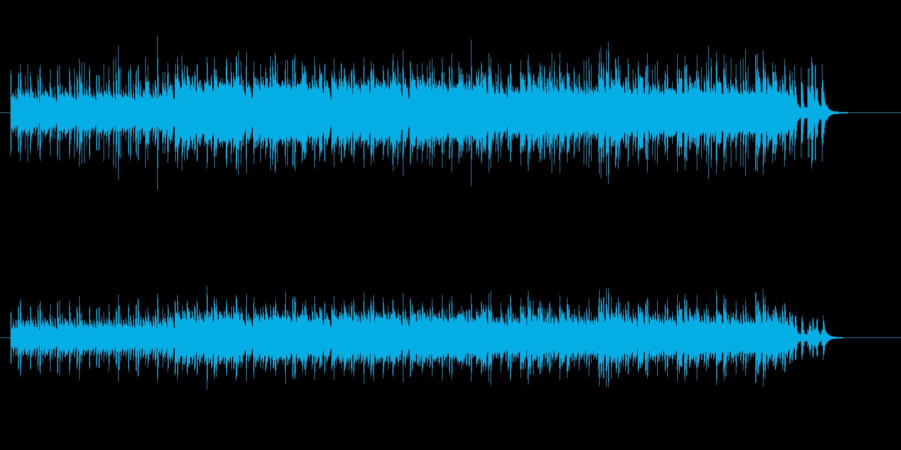 コミカルなサンバ・テクノの再生済みの波形