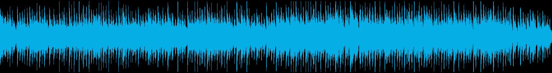爽やかな朝、ほのぼのウクレレ ※ループ版の再生済みの波形