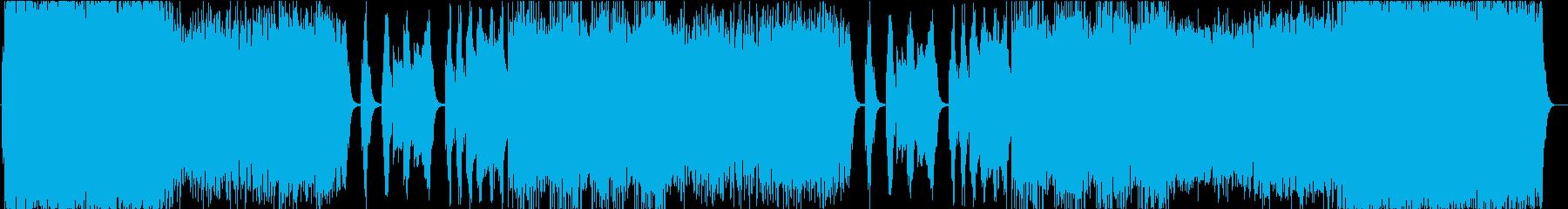 生きる素晴らしさ・壮大で感動的なBGMの再生済みの波形