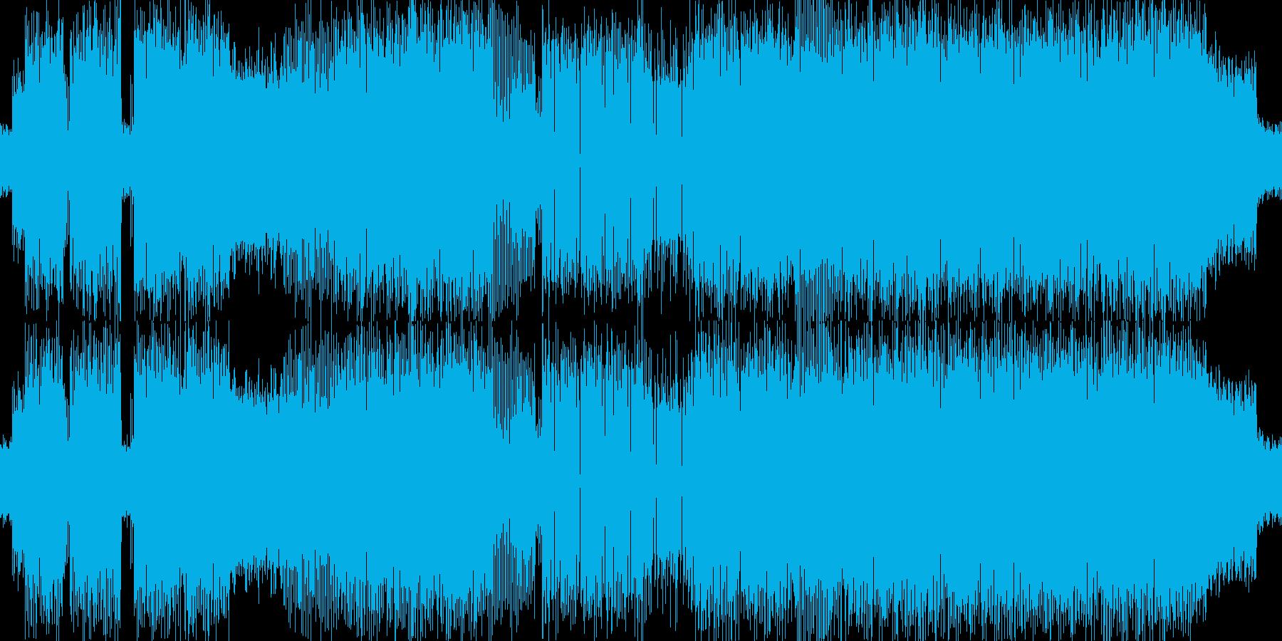 イントロ奇妙で、サスペンス、ミステ...の再生済みの波形