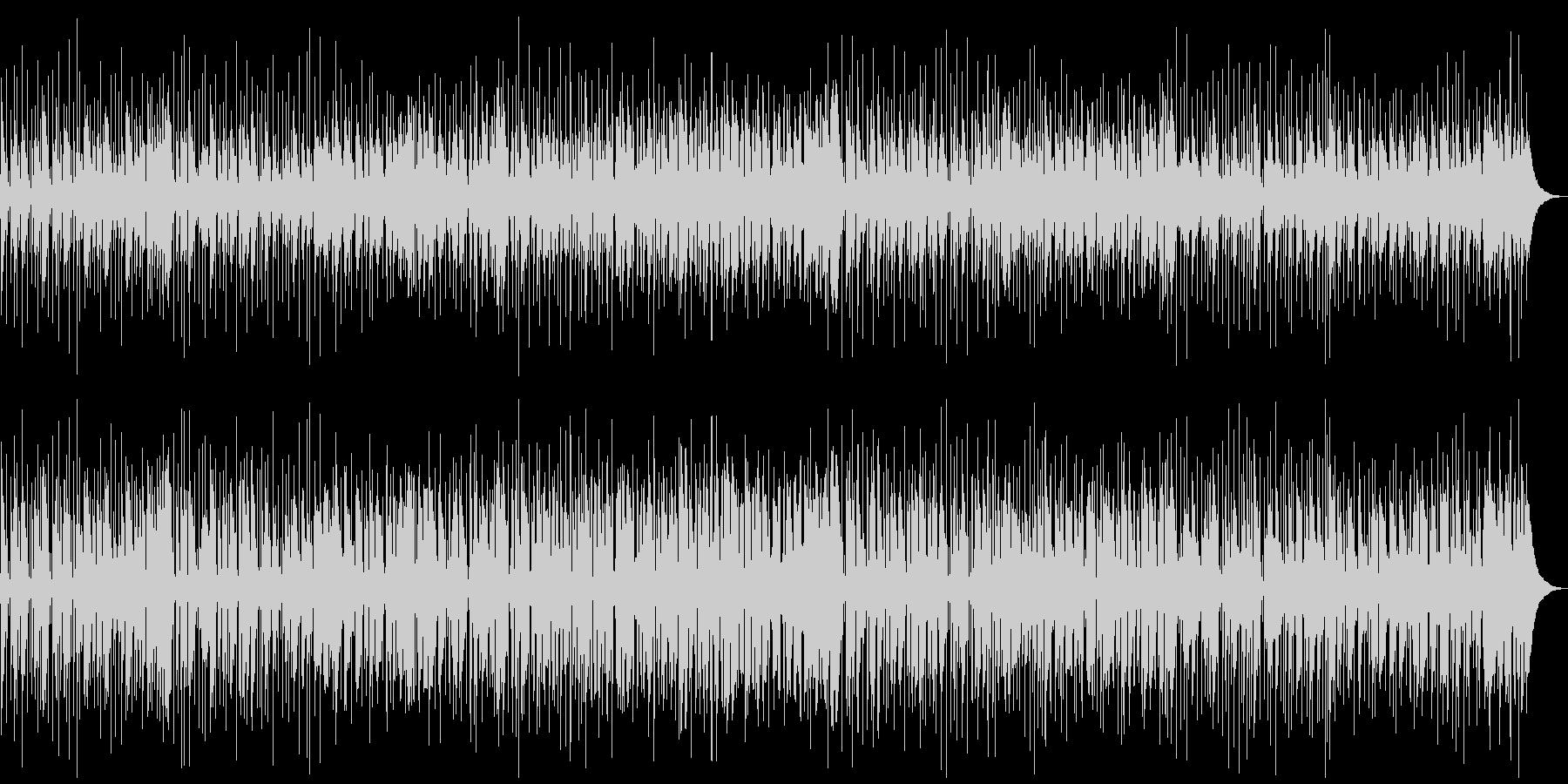 都会的な雰囲気のスムースジャズBGMの未再生の波形