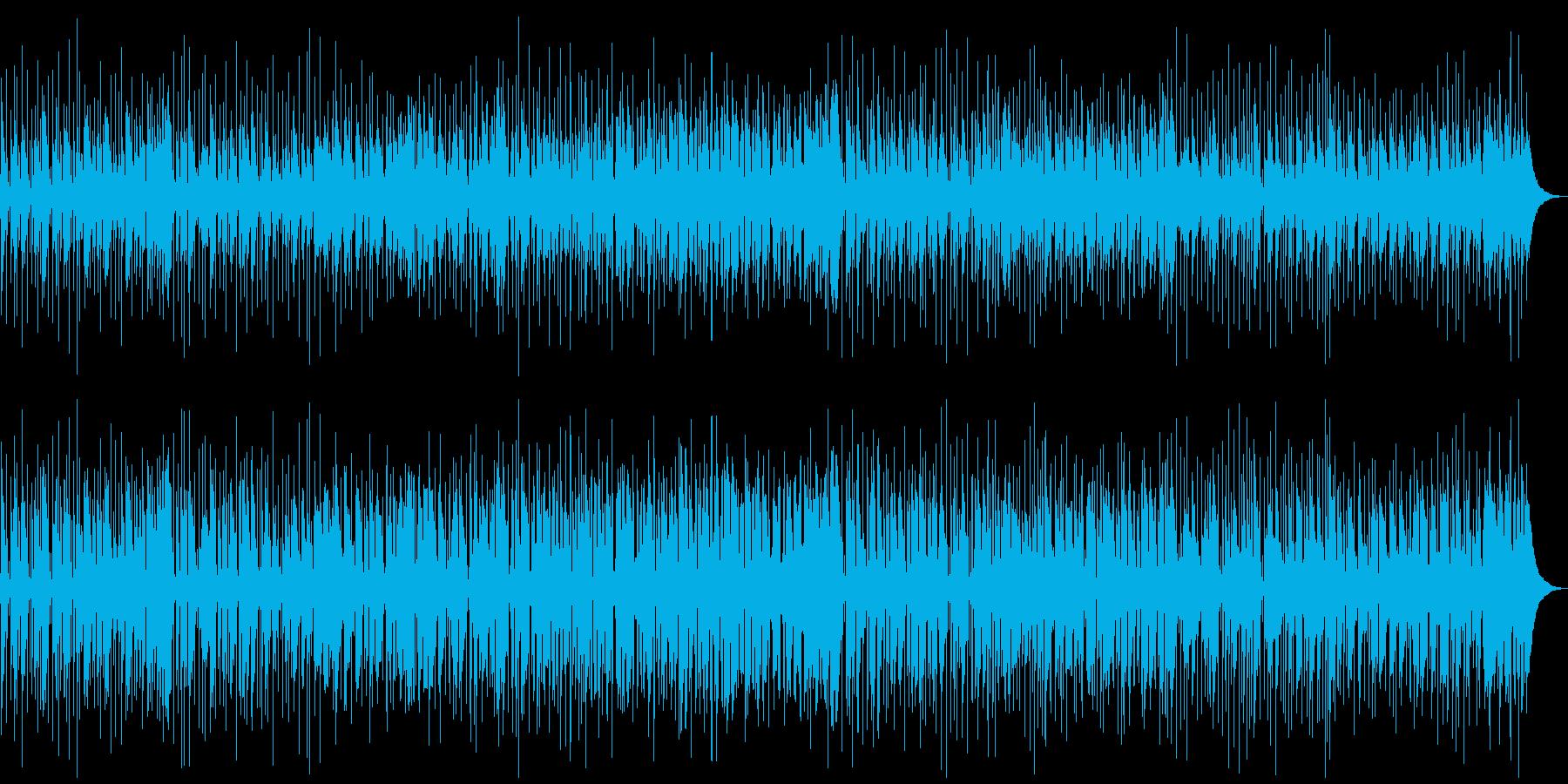 都会的な雰囲気のスムースジャズBGMの再生済みの波形