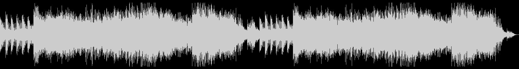 神秘的なダンジョン・クリスタル・洞窟の曲の未再生の波形