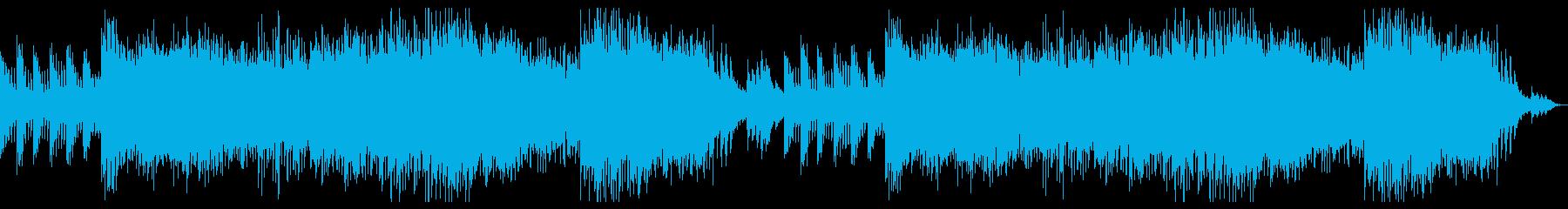 神秘的なダンジョン・クリスタル・洞窟の曲の再生済みの波形