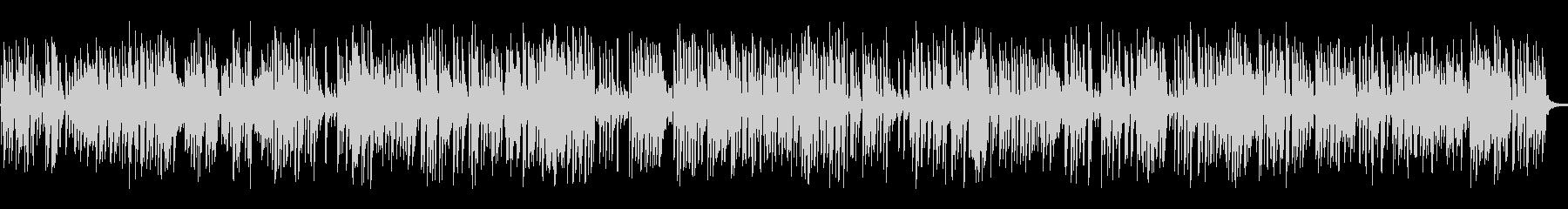 バーで流れるおしゃれなジャズピアノトリオの未再生の波形