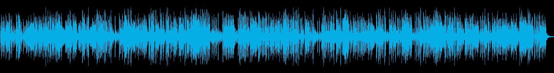 バーで流れるおしゃれなジャズピアノトリオの再生済みの波形