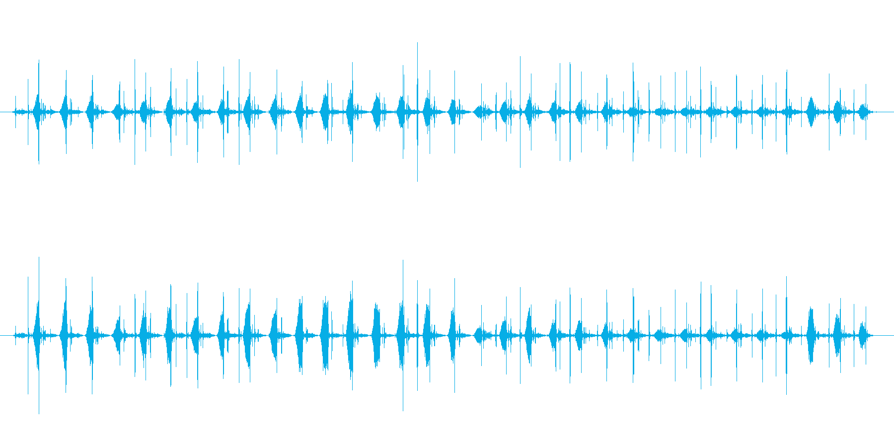 ポータブルチューブ自転車ポンプ:ポ...の再生済みの波形