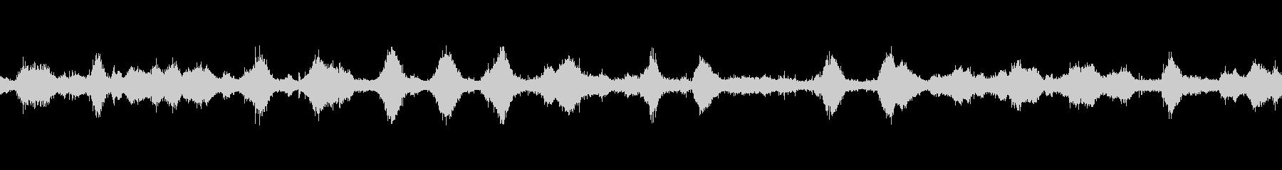 【バイノーラル】波の音ループ02の未再生の波形