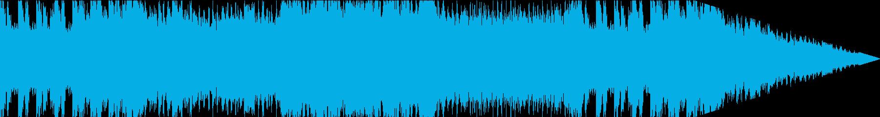 成功を告げるようなBGMの再生済みの波形