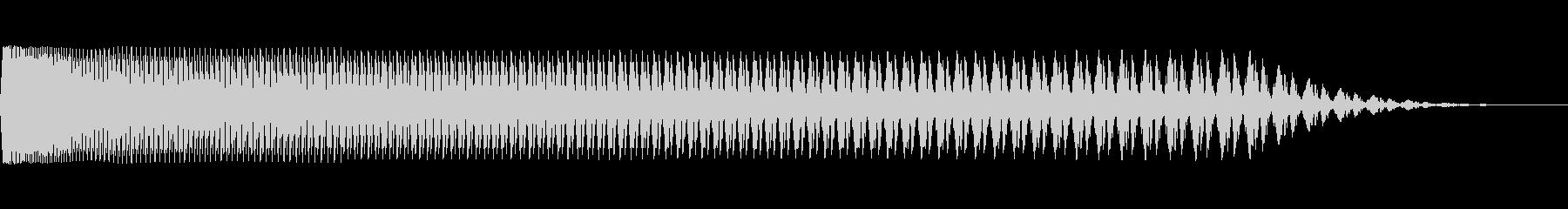 ダウンダウンソルブ1の未再生の波形