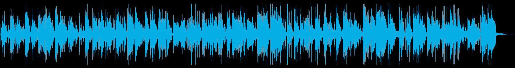 夜のラウンジで流れるおしゃれなジャズ音源の再生済みの波形