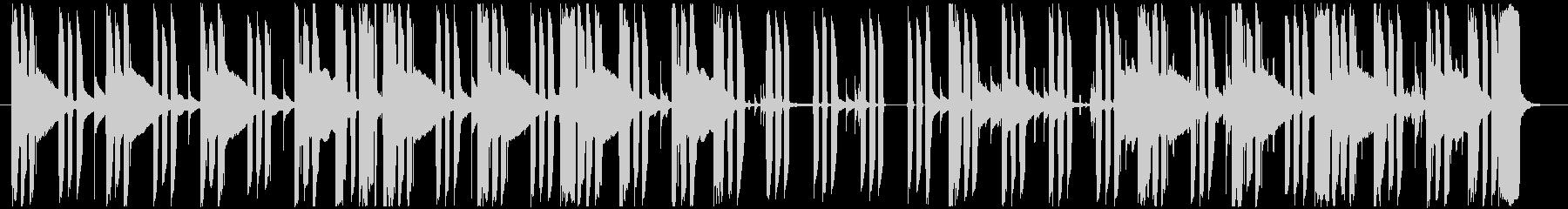ミステリー・サスペンスの日常曲2の未再生の波形