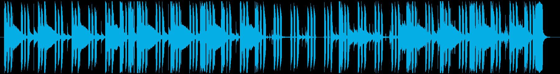ミステリー・サスペンスの日常曲2の再生済みの波形