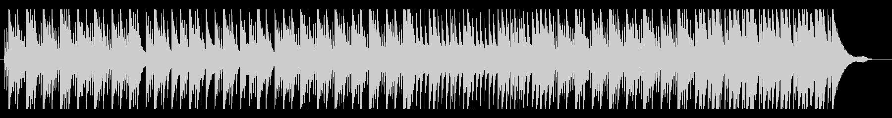 懐かしい雰囲気のピアノソロの未再生の波形