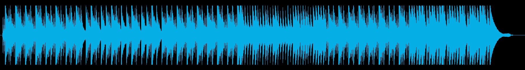 懐かしい雰囲気のピアノソロの再生済みの波形