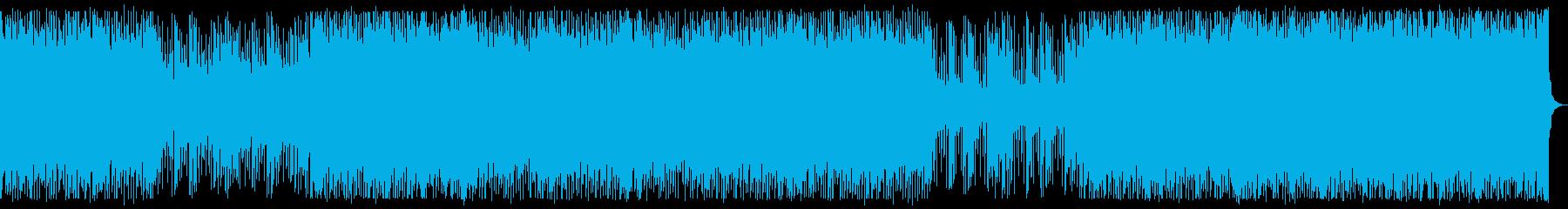 電子/疾走感/ロック_No358_1の再生済みの波形