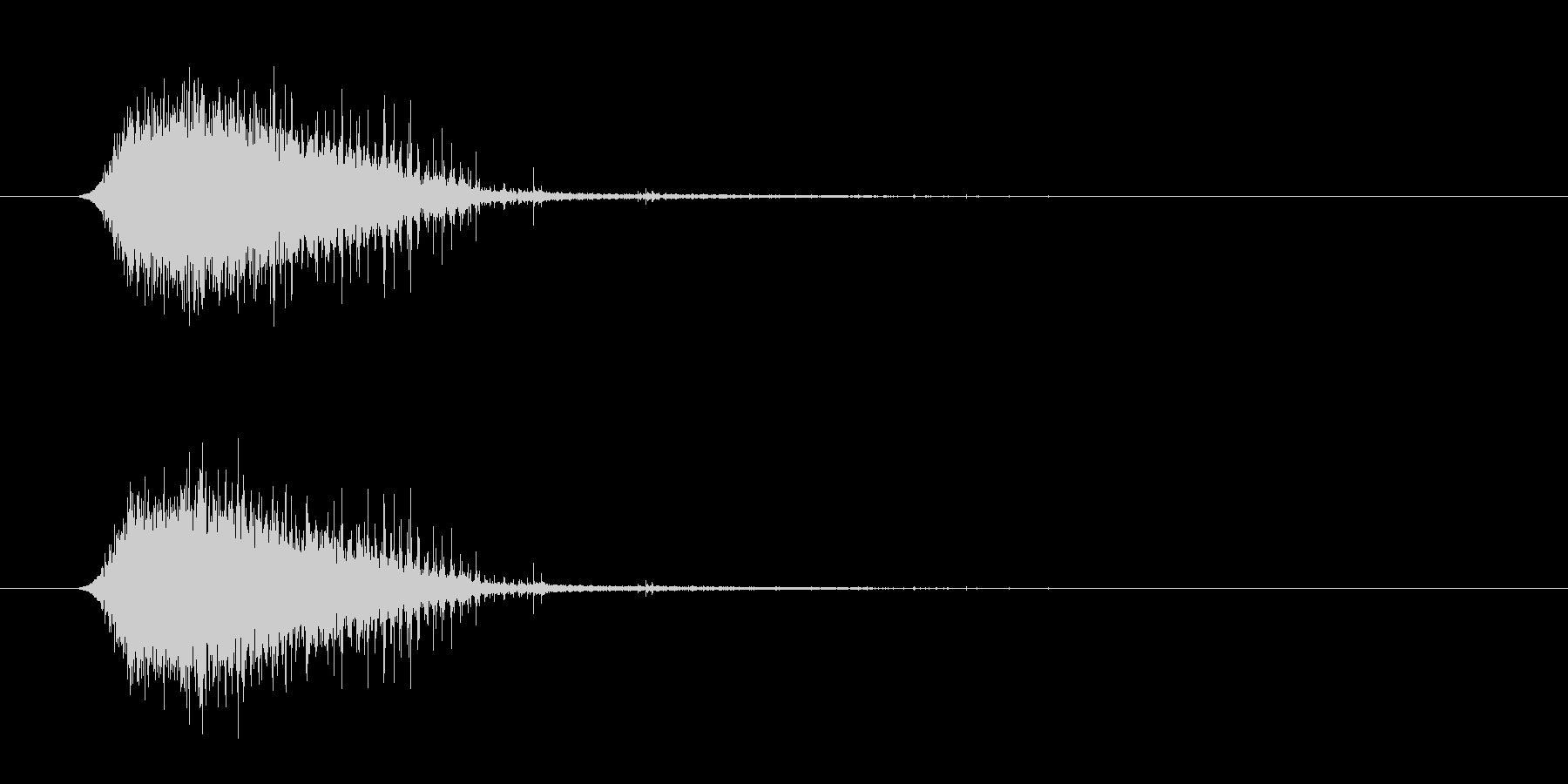 トランジション フラッシュ03の未再生の波形