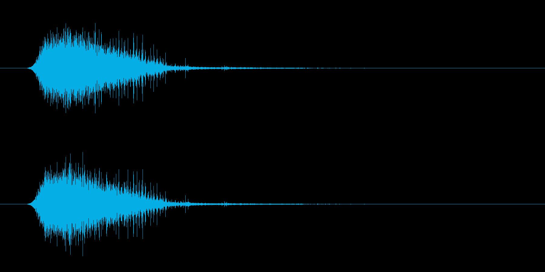トランジション フラッシュ03の再生済みの波形