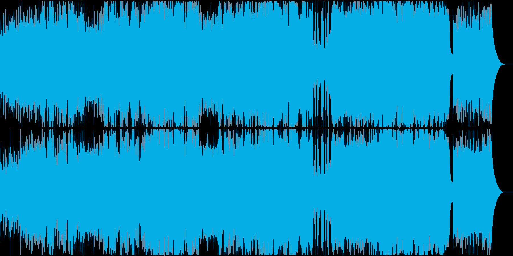 【透明感のある歌声】切なくも明るいポップの再生済みの波形
