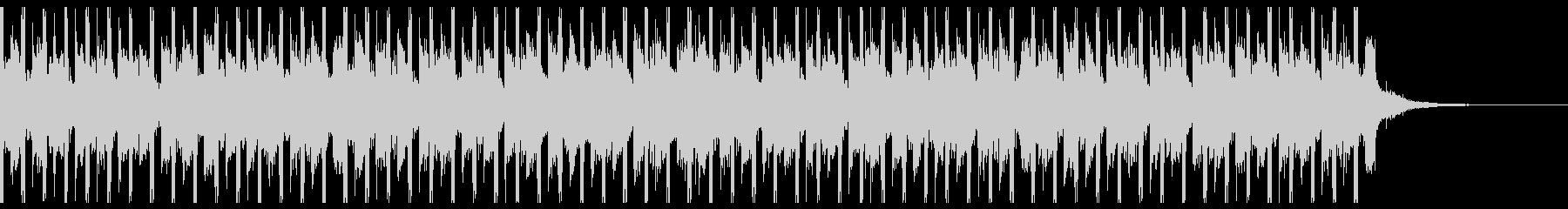 テクノロジー・アップビート(30秒)の未再生の波形
