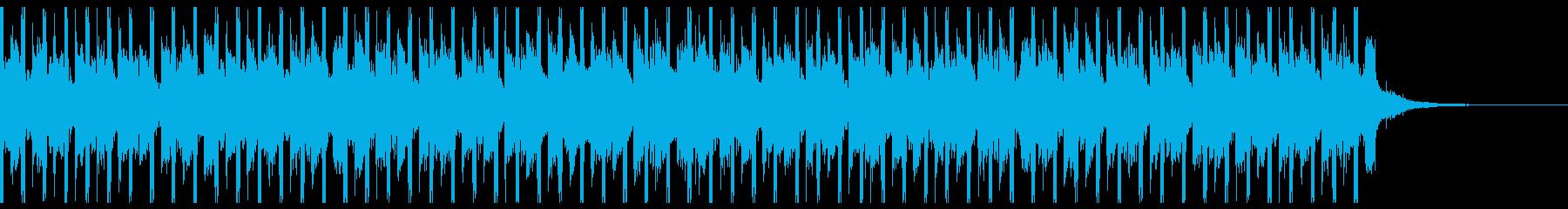 テクノロジー・アップビート(30秒)の再生済みの波形