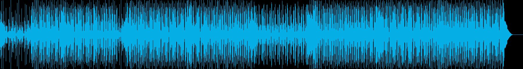 硬派スラップベース逆再生ヒップホップの再生済みの波形