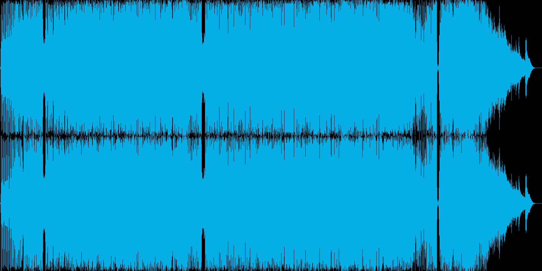 疑心暗鬼の極みロックの再生済みの波形