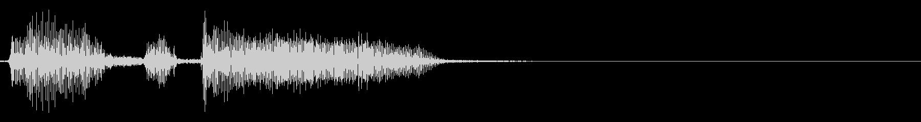 ロボット YouTube「ナイスパ!」の未再生の波形