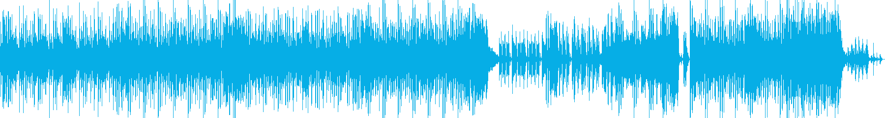 犬の鳴き声をキャッチーに使用したトラックの再生済みの波形