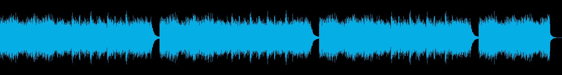 感動的な演出にピッタリのピアノバラードの再生済みの波形