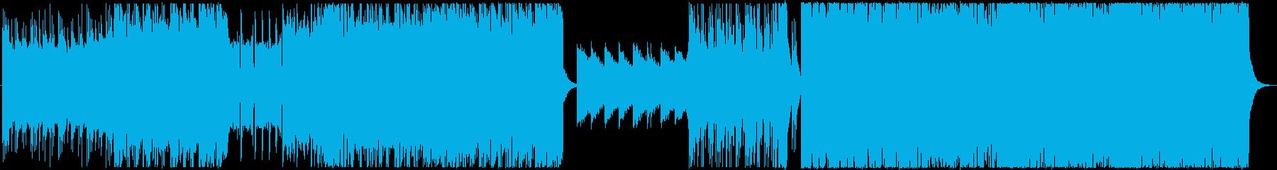 感動をもたらすEDM.エレクトロハウスの再生済みの波形