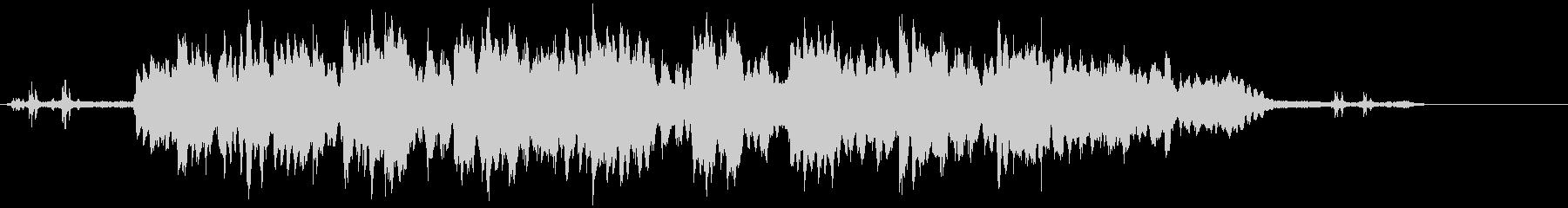 ガムランのサウンドですの未再生の波形