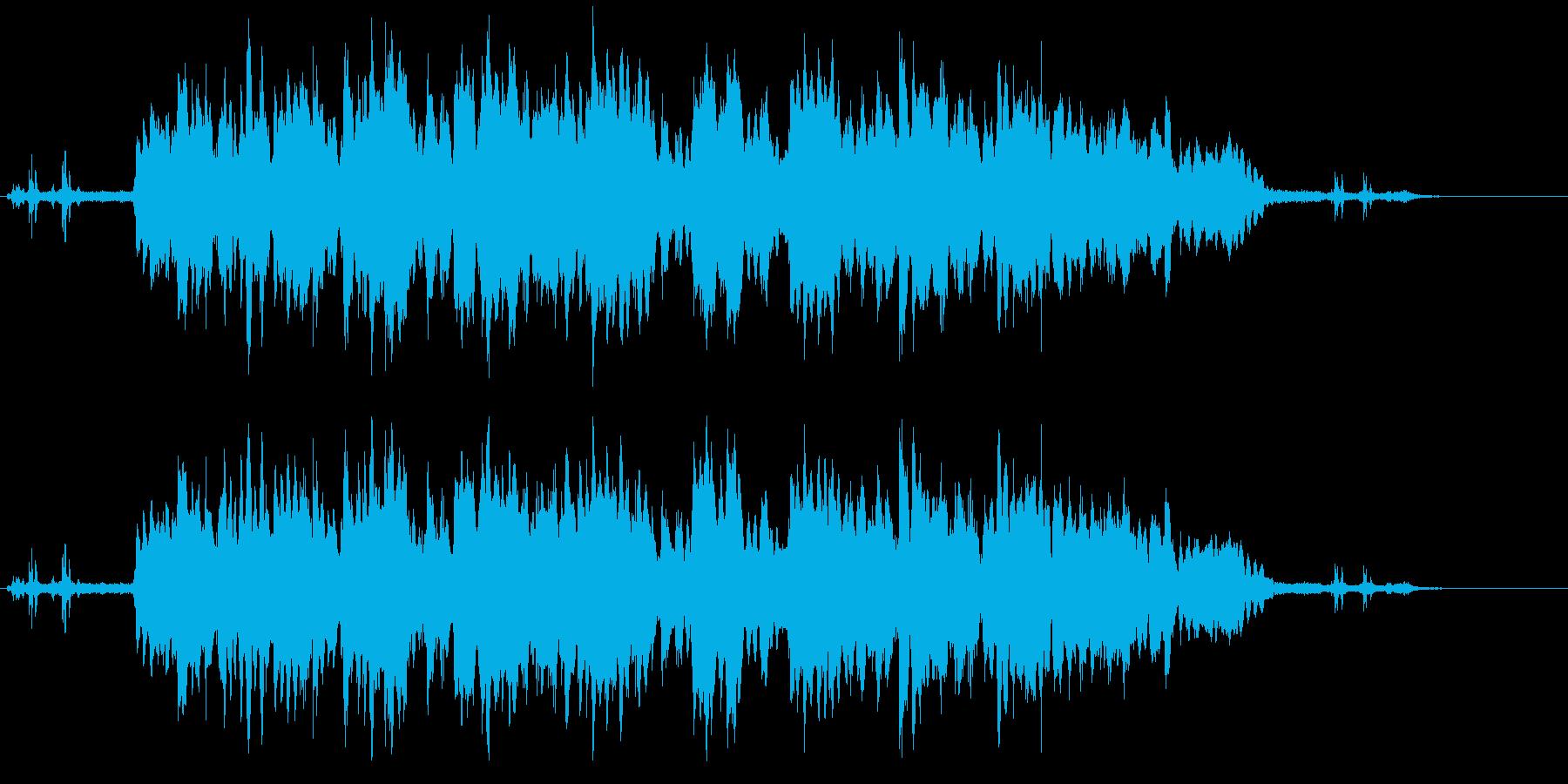 ガムランのサウンドですの再生済みの波形