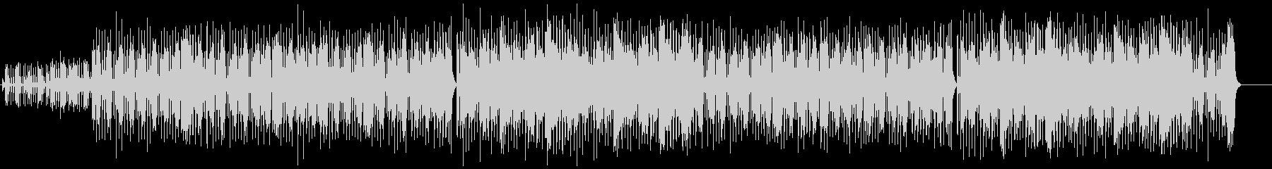 快適グルーヴのスタンダード・フュージョンの未再生の波形