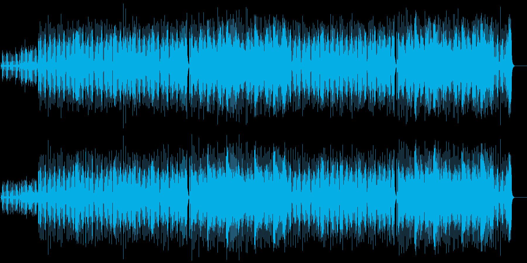 快適グルーヴのスタンダード・フュージョンの再生済みの波形