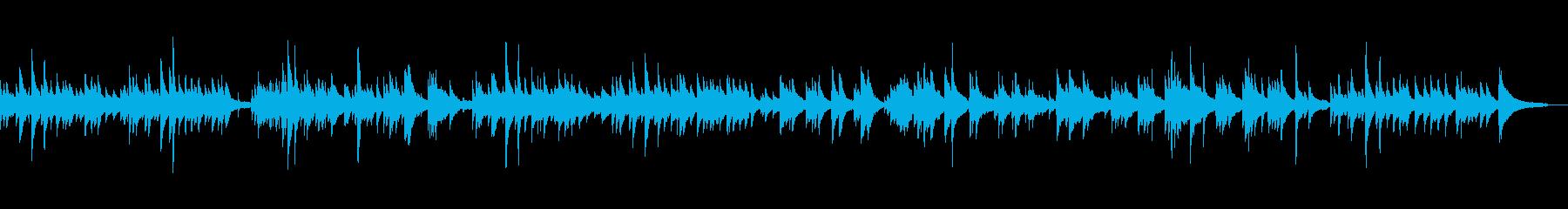 童謡のようなほのぼの雰囲気の小曲の再生済みの波形