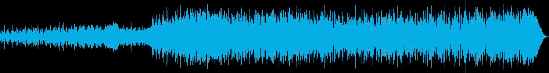 謎めいた不思議なイメージ曲の再生済みの波形