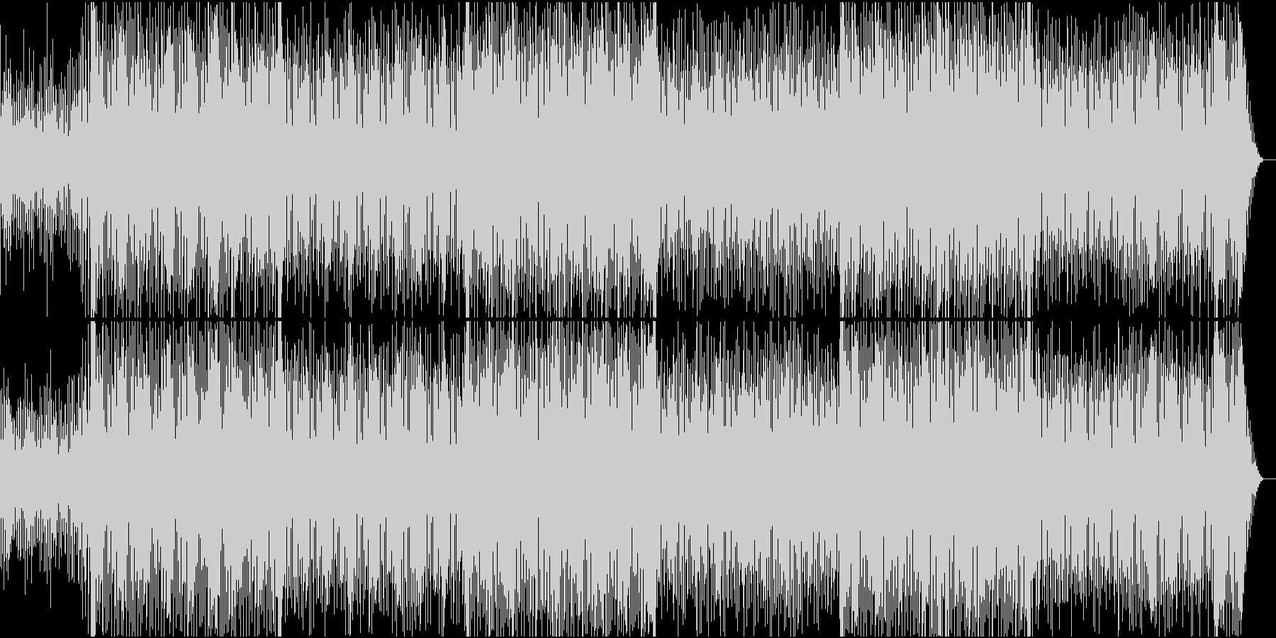 ゲーム音楽風何かが始まる時のエモトランスの未再生の波形