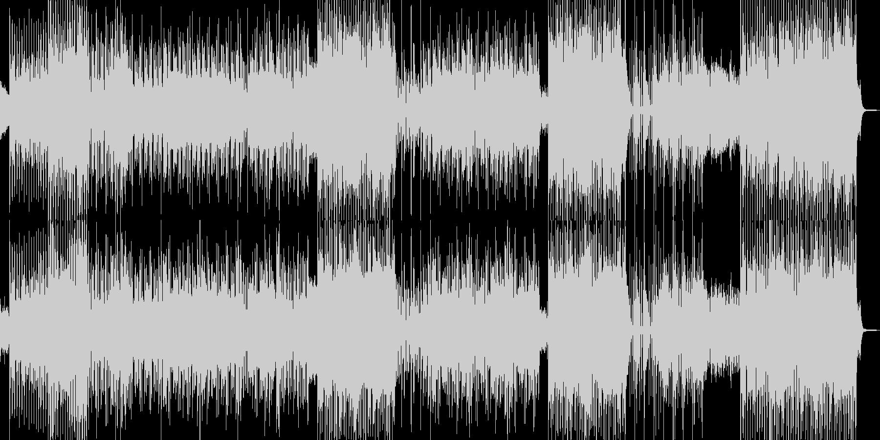 アフリカン(°m°;)なダンストラックの未再生の波形
