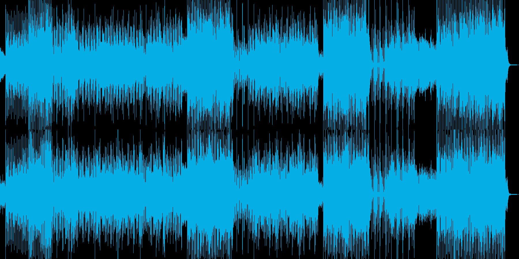 アフリカン(°m°;)なダンストラックの再生済みの波形