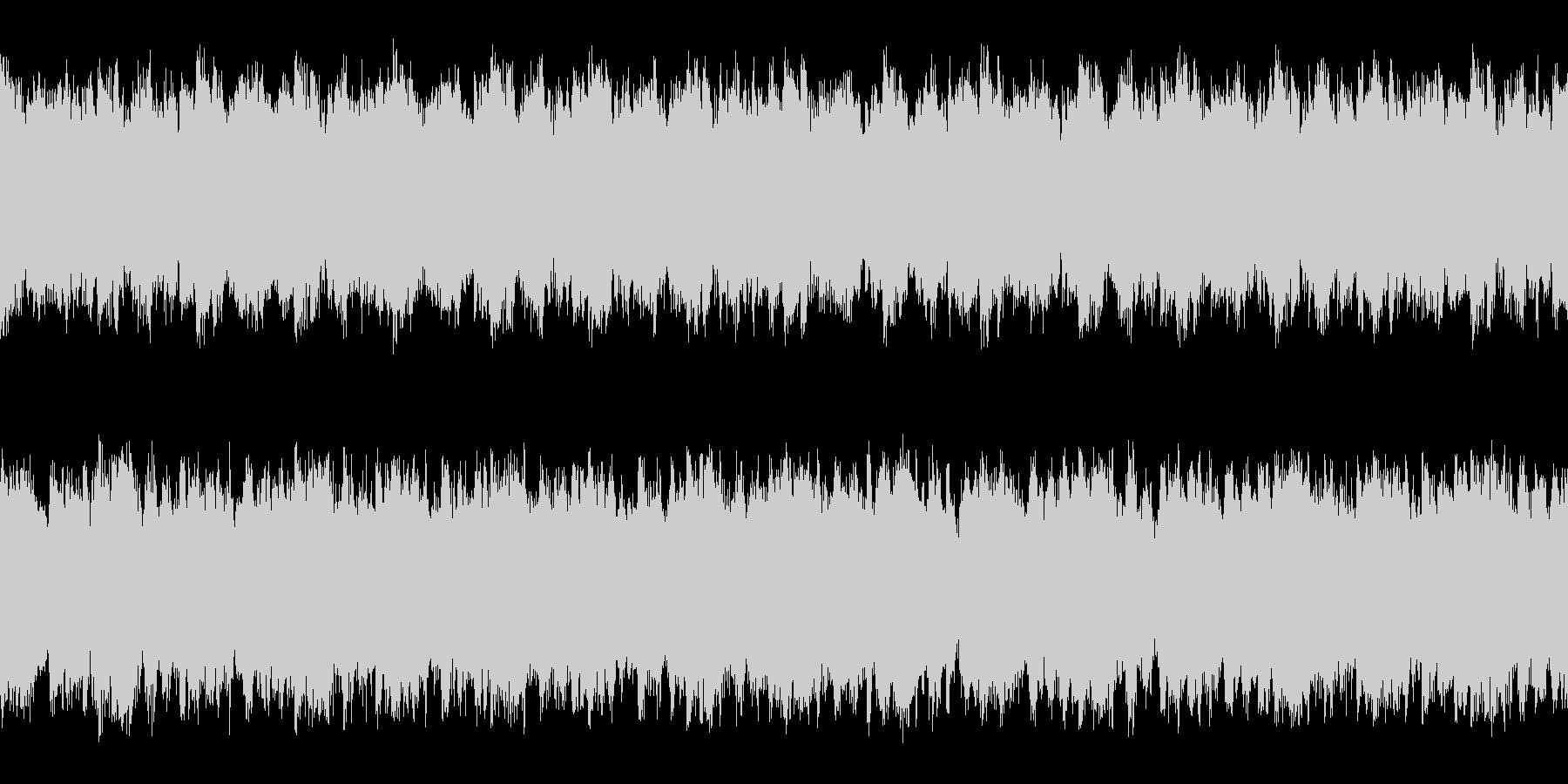 マップ画面・森洞窟・単調ループ・ピアノの未再生の波形