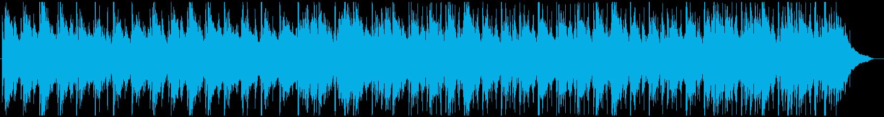 アコギストロークのんの再生済みの波形