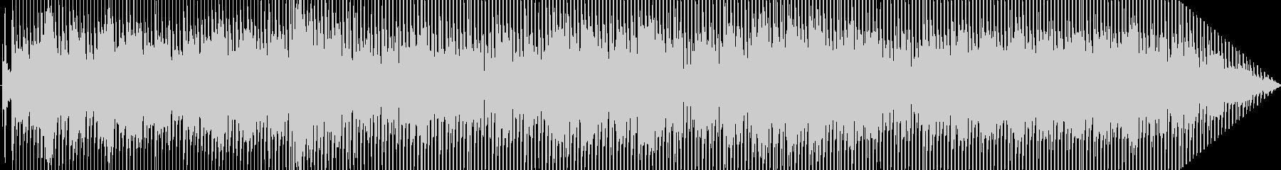 ファンキーでブルージーの未再生の波形