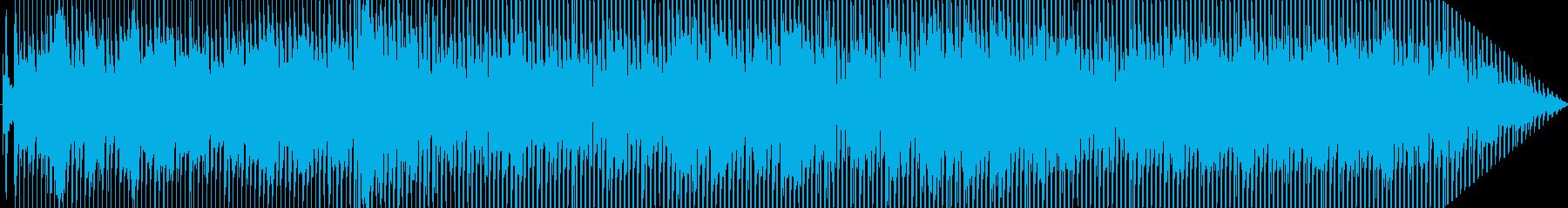 ファンキーでブルージーの再生済みの波形