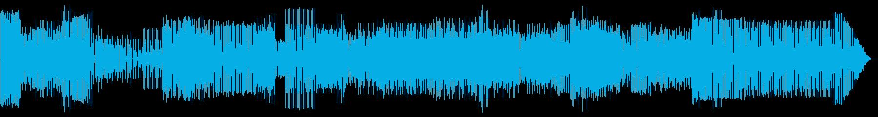 力ずよいリズムとDJ風味の乗りの良い楽…の再生済みの波形