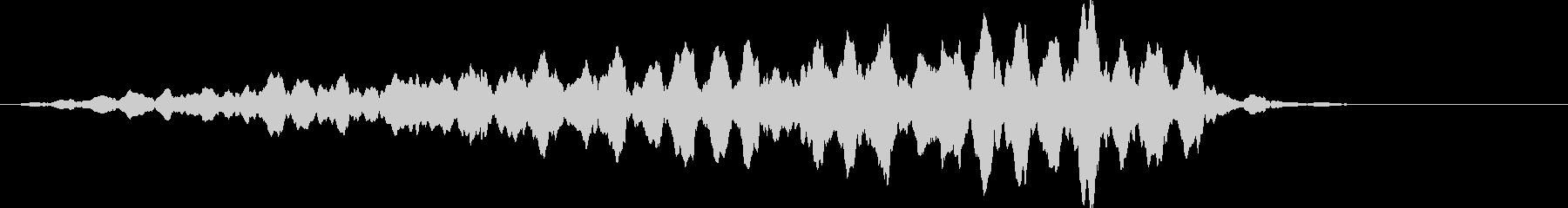 キーン (氷、緊張感、無機質)の未再生の波形