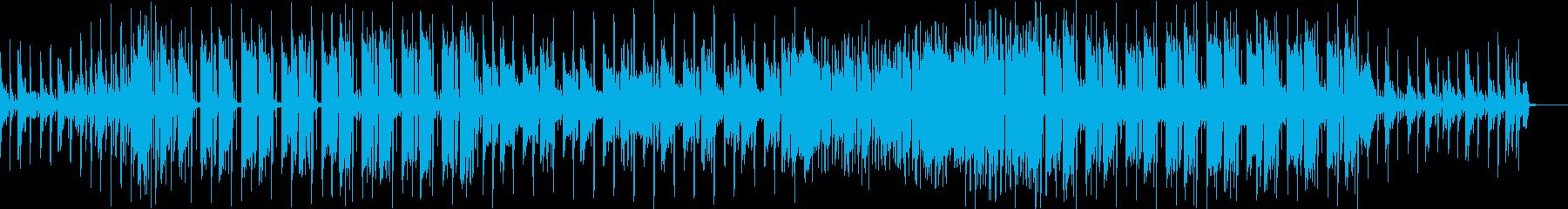 クールでポップなFuture Bassの再生済みの波形
