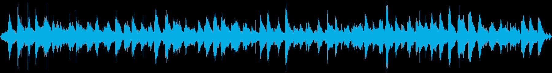 【自然音】穏やかな波 海岸から10m_2の再生済みの波形