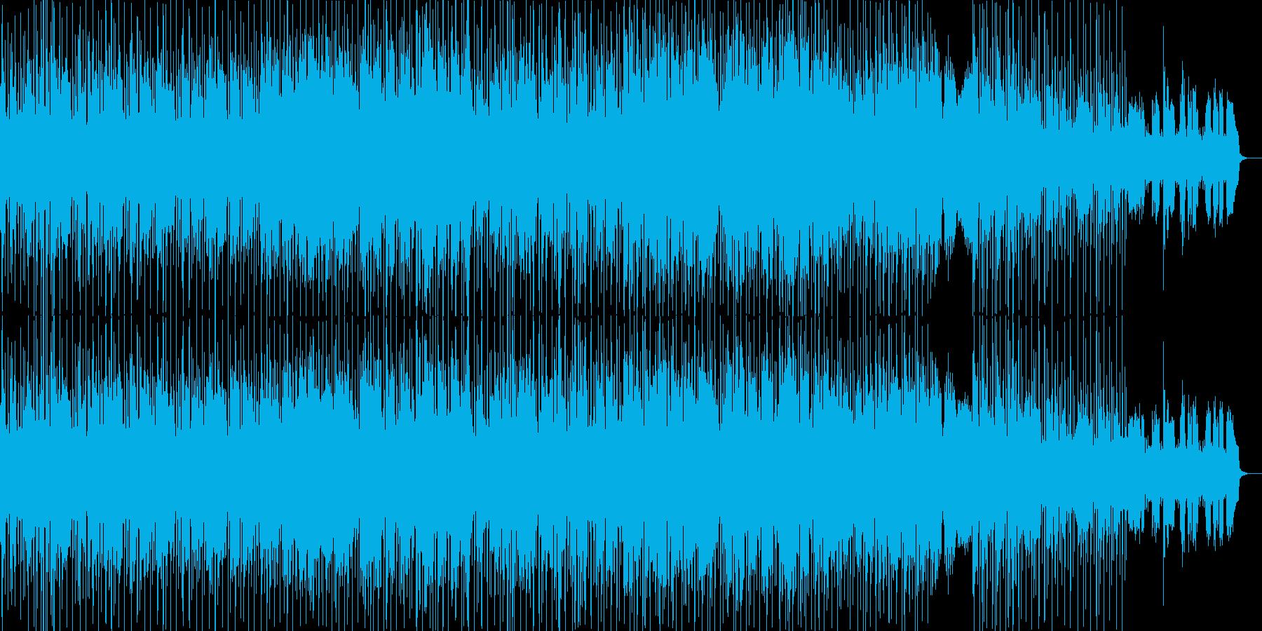 男性Vo ソフトロック・バラード曲の再生済みの波形