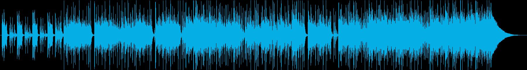 ドラムマシンとスライドギターをフィ...の再生済みの波形